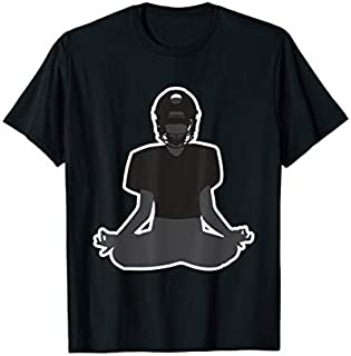 [Featured] Football Player Meditating Funny Football Yoga Meditation in ALL styles | Size S - 5XL