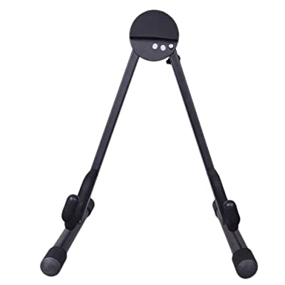 A-Frame Adjustable Folding Cello Stand Support for Violin 1/8-4/4 Cellos Black