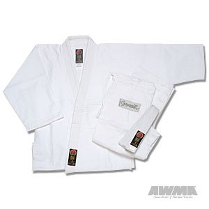 ProForce Gladiator Judo Gi / Uniform - Bleached White - Size 000