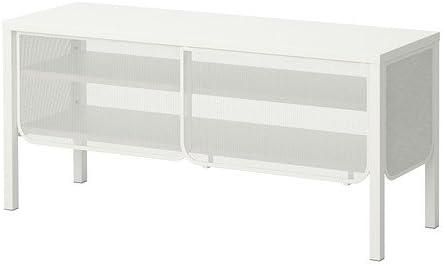 IKEA NITTORP - Mueble TV, blanco - 122x55 cm: Amazon.es: Hogar