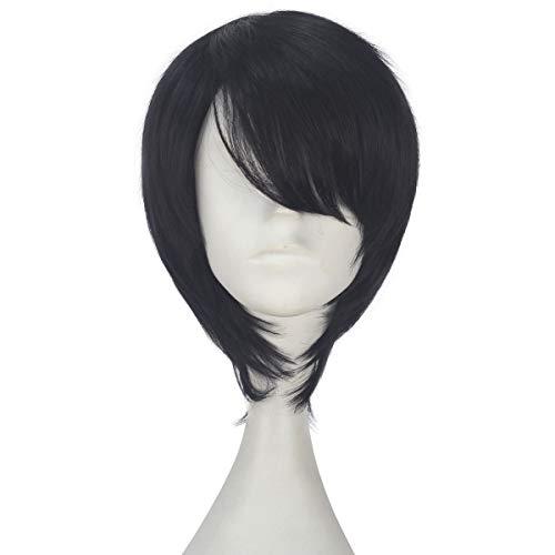 Miss U Hair Synthetic Unisex Short Straight Hair Anime Cosplay Costume Full Wig