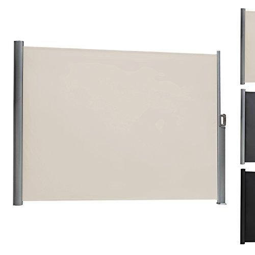 Songmics-Seitenmarkise-200-x-300-cm-mit-allen-Zubehrteilen-dreier-Montagearten-verdickter-Polyester-280-gm-Seitenrollo-Sichtschutz-Farben-auswhlbar
