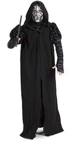 Death Eater Halloween Costumes - Harry Potter Adult Deluxe Death Eater Costume