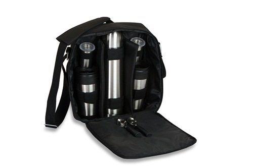 Coffee Tote With Travel Mugs, Thermos Bottle Coffee Set ()