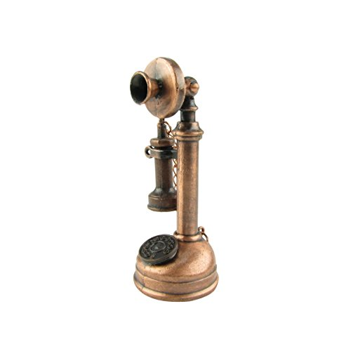 (Antique Style Candlestick Phone Die Cast Pencil Sharpener)