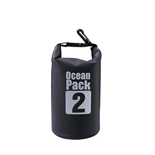 Unisex Black Soft Leather Bum Bag Waist Zippered Pocket (Black) - 6
