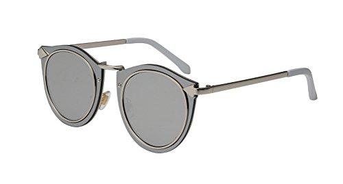 GAMT Polarized Round Sunglasses for Men Vintage Cat Eye Designer - Trendy Hipster