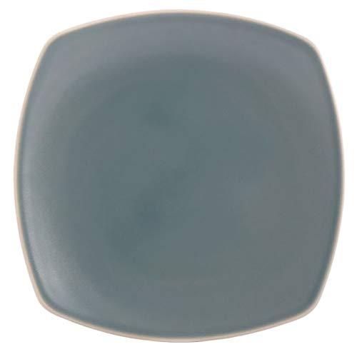(Lovely Matte Finish Edge Square Serving Platter in Celadon)