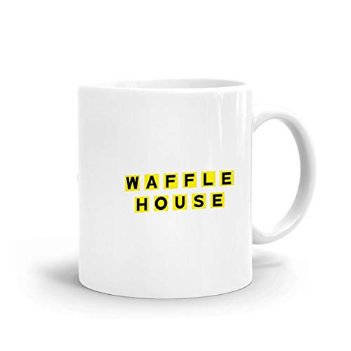 Kurabam Coffee Mug Waffle House Tea Milk Funny Mugs for sale  Delivered anywhere in USA