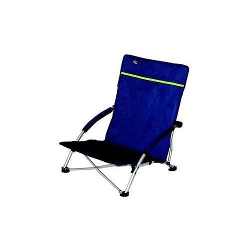STABIELO Bleu FoncC Chaise Pliante Plage
