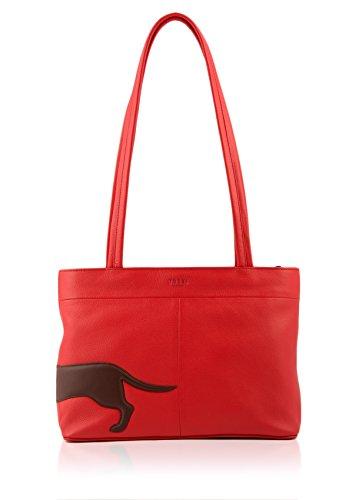 Red Hombro Talla Mujer Al Para Bolso Yoshi Rojo Única gqwZOYWE