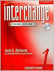 Interchange Student's Book 1 with Audio CD 3th (third) edition Text Only