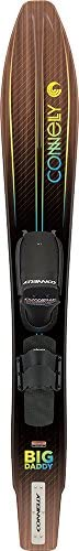 Connelly Big Daddy Waterski, Front Adjustable Binding/Rear Toe Strap