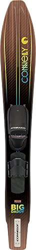 CWB Connelly Big Daddy Waterski, Front Adjustable Binding/Rear Toe Strap (Best Ski Boots For Advanced Skiers)