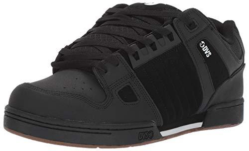 DVS Men's Celsius Skate Shoe, Black ha Leather, 14 Medium US
