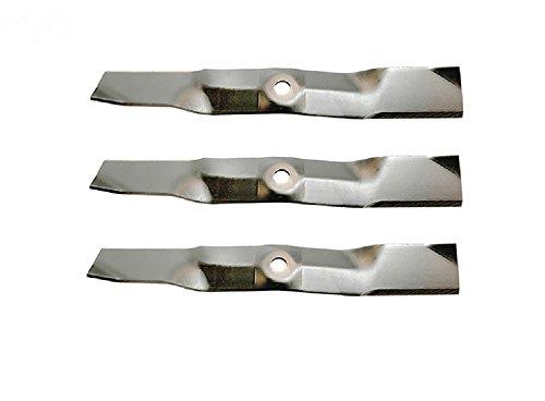 JOHN DEERE Rotary 10291, 3- USA Made Blades M127500 M145476, 99 & Up