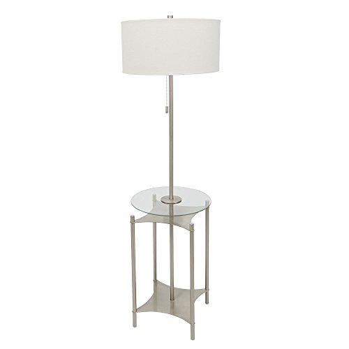 Silverwood CPLF1222A Alyssa Floor Lamp, Nickel
