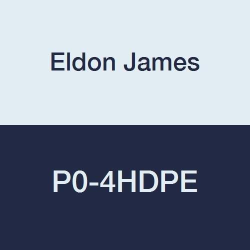 1//4 Hose Barb Pack of 10 Eldon James P0-4HDPE P0-1NK Natural High Density Polyethylene Barbed Insert Plug