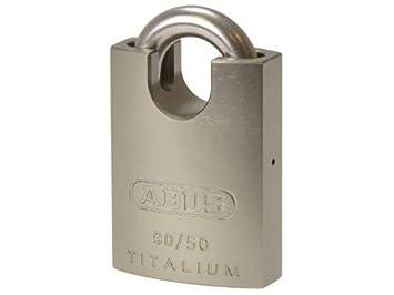 Abus 90RK/50 - Candado Titalium arco protegido e inoxidable 50mm