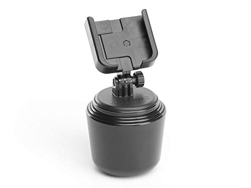 WeatherTech CupFone -Universal Adjustable Portable Cup Holder Car Mount for Cell (Portable Cup Holders)