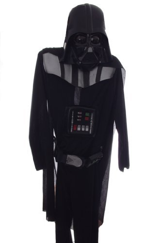 Darth Vader Deluxe Costume Full Suit and Mask Medium Size 8 by Rubies]()