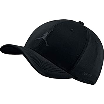 9fc2b8d5 ... usa nike jordan jumpman clc99 woven unisex adults hat unisex adult  897559 black 494d4 08289