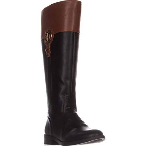 6 Hilfiger Tommy Closed Black Lila Size Womens Fashion 4 High Us Toe Knee Boots Uk 2 0 d7Fq7vwr