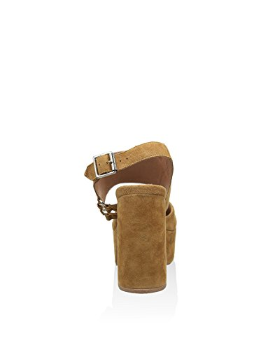 Beige Campbell Tacco con EU Sandalo Jeffrey 39 vIZq4q