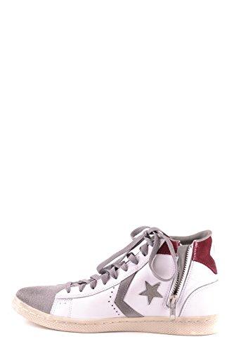 Converse Hi Top Sneakers Donna MCBI077010O Pelle Bianco