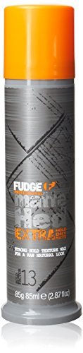 Fudge Matte Hed Extra Matte Molding Wax for Hair 85g by - Hair Wax Fudge