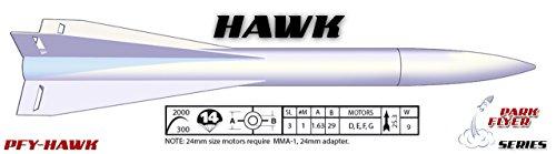 LOC Precision Flying Model Rocket Kit 1.63