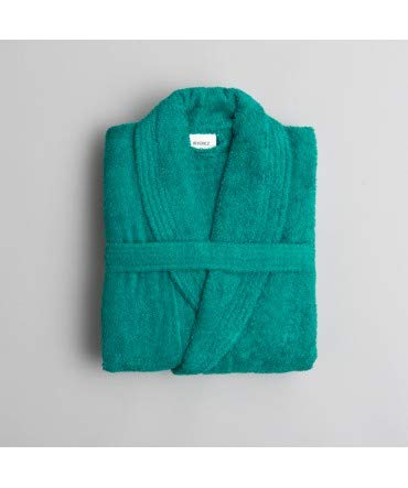 10XDIEZ Albornoz Colors Verde - Medidas Albornoces/Batas Adulto - XL (Super Grande)