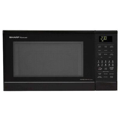 Sharp 0 9 Cu Ft 900w Countertop Microwave By Sharp