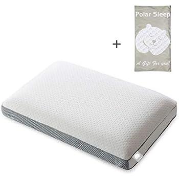 Amazon Com Polar Sleep Memory Foam Pillow For Sleeping 2