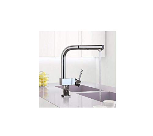 Kitchen Faucets 360 Degree Swivel Kitchen Faucet Chrome Polished Basin Faucet Hot Cold Water Swivel Mixer