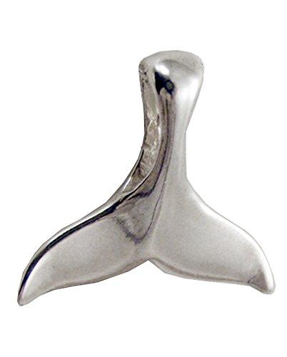 (Sterling Silver Whale Tail Fluke Pendant)