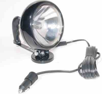 Handheld Magnetic Spotlight - 7.5 Million Candlepower - 12 Volts - 700'L X 65'W Spot Beam - 16' Cord