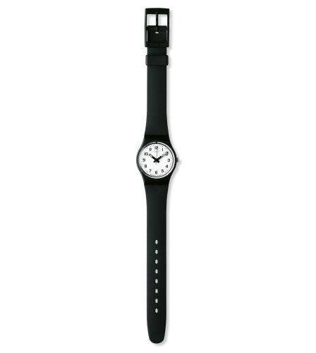 Swatch Women's LB153 Something New Black Plastic Watch