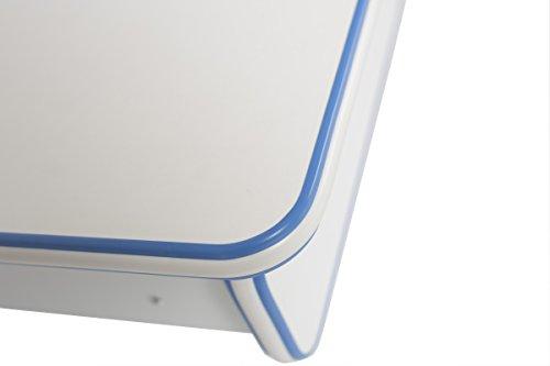 ApexDesk Little Soleil Dx 43'' Children's Height Adjustable Study Desk W/ Integrated Shelf & Drawer (Blue), Denim Blue by ApexDesk (Image #2)