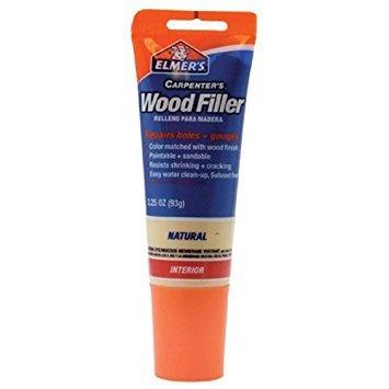 Wood Filler Tube - Elmer's E868 Carpenter's Wood Filler, 3.25-Ounce Tube, Natural - 2 Pack
