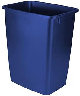 product image for Rubbermaid Waste Basket, 36-Quart, Blue