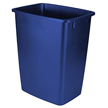 Rubbermaid Waste Basket, 36-Quart, Blue