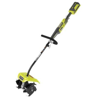 Ryobi 10 in. 40-Volt X Lithium-Ion Cordless Attachment Capable Cultivator