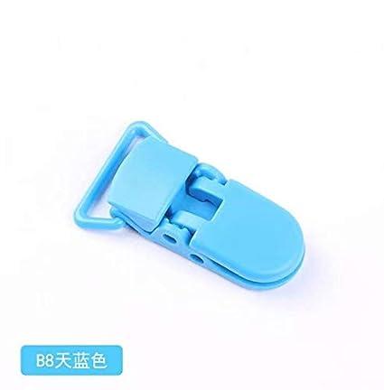 c5b6c109355aa 10pcs Pince à sucette bretelle attache clip plastique choisir ...