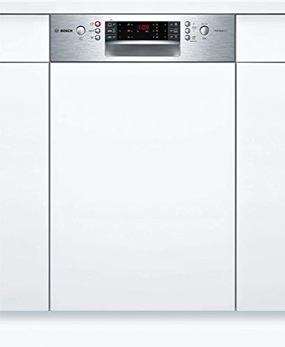 Bosch SPI66TS01E Geschirrspüler Teilintegriert / A+++ / 45 cm / 188 kWh/Jahr / 2660 L/jahr / Aqua Sensor / Active Water Hydrauliksystem / Edelstahl