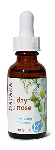Baraka Dry Nose 1 oz- Nasal Moisturizer - 4 Organic Essential Oils in Sesame Oil Base (1)