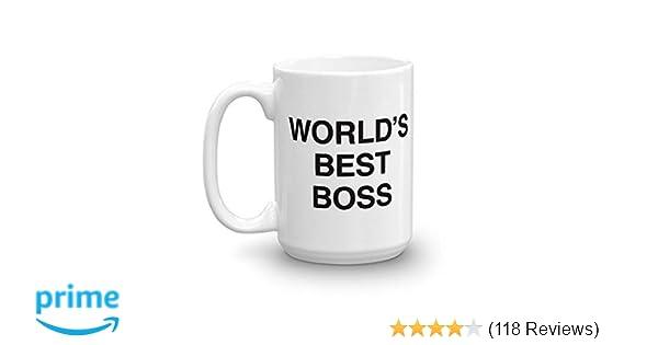 The office coffee mug Funny Amazoncom The Office Worlds Best Boss Dunder Mifflin Ceramic Mug White 15 Oz Official Michael Scott Mug As Seen On The Office Kitchen Dining Amazoncom Amazoncom The Office Worlds Best Boss Dunder Mifflin Ceramic Mug
