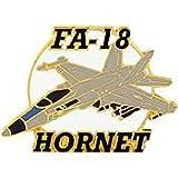 MilitaryBest FA-18 Hornet Lapel Pin (1-1/2)