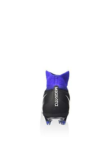 Nike Junior Magista Obra Ii Fg Fodbold Klamper (sort / Hvid / Altoverskyggende Blå / Blå Farvetone) Blå T5yPn