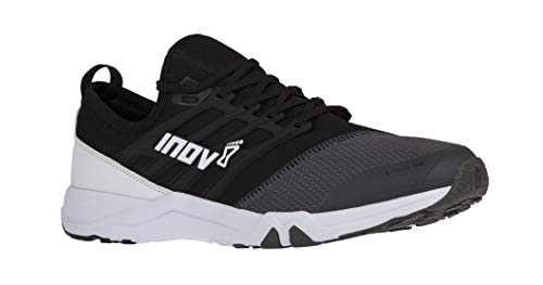 (Inov-8 F-Train 240 - Ultimate High Intensity Interval Training Shoes - Functional Training Shoe for HITT and Gym Workouts - Black/Grey M10/)